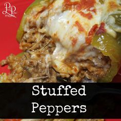 These Stuffed Green Peppers are seriously the easiest dish to make (but everyone will think you spent hours in the kitchen)! Swap out ground beef with ground turkey and make it a healthier option!