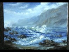 Oil Painting - Windy Seascape - Paint with Kevin Hill - YouTube