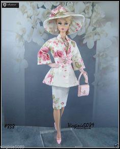tenue outfit + accessoires barbie silkstone vintage et fashion royalty #839