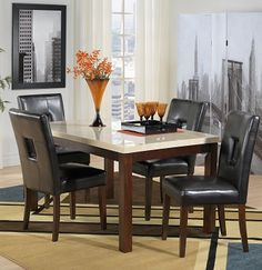 Casual Dining Room Furniture-The Courtyard Collection-Courtyard Table