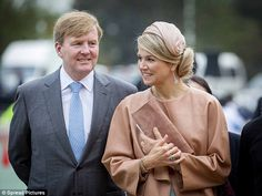 King Willem-Alexander and Queen Maxima  visit the Shijia primary school for a football training in Beijing