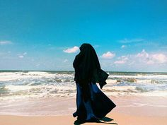 The beauty of a modest muslima