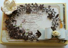 Envelope puchingboard. Chololate box