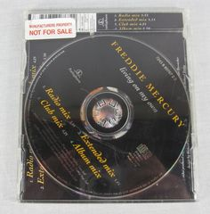 Freddie Mercury 1993 Living On My Own Promo Maxi CD Electronic Dance Music Rare #RockPopHouseSynthPopDancePopElectroSynthPopRock1990s