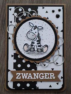 Kim's CreaLife: Zwanger! Rubber Stamping Techniques, Marianne Design Cards, Auryn, Zebra Art, Create A Critter, Bird Cards, Digi Stamps, Card Sketches, Love Cards