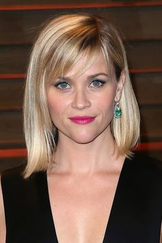 Reese Witherspoon - long bob with fringe