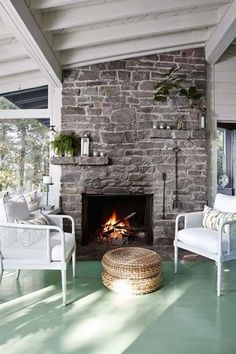 STYLISH HOMES: Sarahs Rental Cottage, near Parry Sound in Georgian Bay, Canada