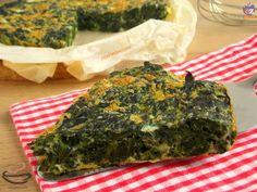 Frittata agli spinaci al forno