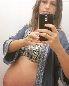 Saudades... último dia de barriga... #tbt  05.03.17... Gestação do Benicio  . . #Deusnocomando #paramamaesebebes #babyplanner #babyorganizer #tbt #saudade #gestante #gravida #gravidinha #40weeks #40semanas #pregnant #inspirepregnancy #ribeiraopreto #saopaulo #brasil