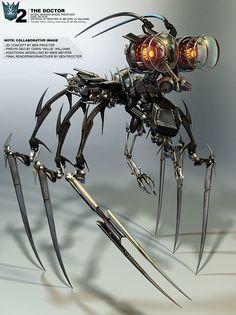 Concept Art World » Transformers 2 Concept Art by Ben Procter