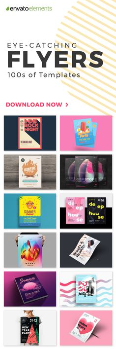 Unlimited Downloads of 2018's Best Flyer Templates