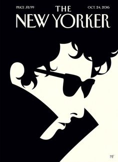 The New Yorker Bob Dylan awarded Nobel award for Literature.WOW love you forever, Bob.