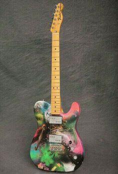 Jon Buckland's Guitar - Mylo Xyloto Tour