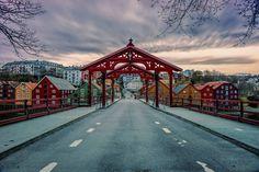 Aziz Nasuti: Landscape, Architecture & painting-like photography- Pics) Trondheim, Landscape Architecture, Geology, Street Photography, Norway, Scandinavian, Cabin, Explore, Country