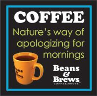 Coffee Humor Magnet, Apology (1ct)