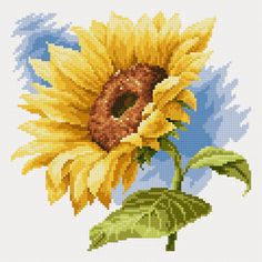 Sunflowers (free chart)