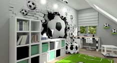 Boys Car Bedroom, Boy Room, Kids Room, Football Rooms, Lucca, Interior Accessories, Beautiful Gardens, New Homes, Relax