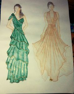 Gown illustration