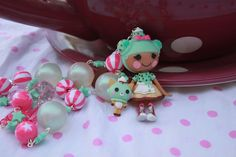 Minty Scoops Waffle Cone Lalaloopsy by kittywooddesigns, $26.00