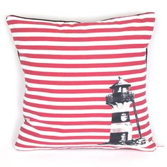 grove lighthouse large cushion by romance is dead | notonthehighstreet.com