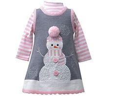 Bonnie Jean Girls Snowman Winter Holiday Jumper Dress Set (4T) Bonnie Jean http://www.amazon.com/dp/B00QABO70C/ref=cm_sw_r_pi_dp_PFBJub08KXRCV