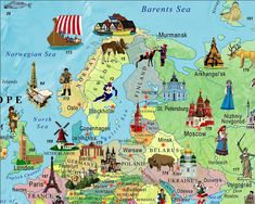 Illustrated Map of the World for Kids (Children's World Map): Akros: 9789871663026: Amazon.com: Books