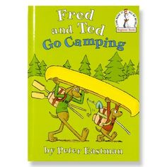 Random House Inc. Fred and Ted Go Camping Camping Books, Kids Camping Chairs, Go Camping, Camping With Kids, Scavenger Hunts, Do A Dot, Worksheets For Kids, Story Time, Campsite