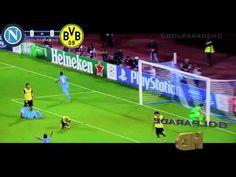 Napoli vs Borussia Dortmund 2 1 Insigne Goal Punizione Super Free Kick Amazing] 18 09 2013 - YouTube