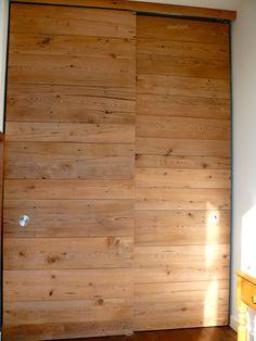 Super Floor To Ceiling Closet Doors Sliding 26 Ideas Wood Sliding Closet Doors, Ikea Closet Doors, Wood Doors, Doors And Floors, Simple Closet, Closet Layout, Palette, Vintage Closet, Interior Barn Doors