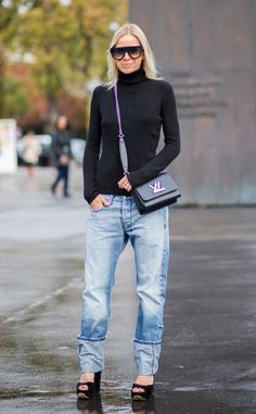 Kristina Bazan from Street Style at Paris Fashion Week Spring 2016 | E! Online