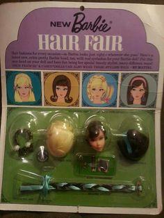 1st issue Hair Fair Barbie