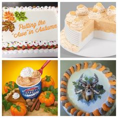 Lov'n fall at DQ. Pumpkin Pie Blizzard Cakes and more award winning decorated cakes . Hermantown MN Superior WI Cloquet MN