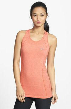 Nike Dri-FIT Seamless Knit Tank available at #Nordstrom
