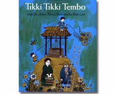 Tiki Tiki Tembo by Arlene Mosel, Blair Lent (Illustrator). Chinese New Year books for kids.  http://www.apples4theteacher.com/holidays/chinese-new-year/kids-books/tiki-tiki-tembo.html