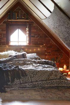 Cozy boho space