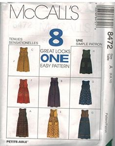 4f050d2a71038b Misses Front Button Jumper Sewing Pattern Pocket Variatio