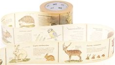 wide mt Washi Masking Tape deco tape with animals