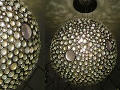 Mooncage chandelier at Plug Lighting