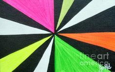 Color Contrast Art Painting