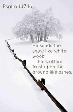 Psalm 147:16