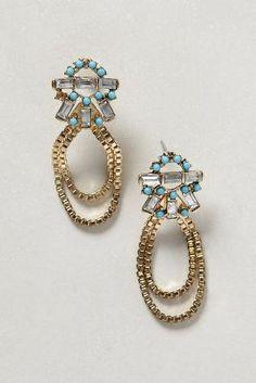 Sestina Earrings #anthrofav #greigedesign