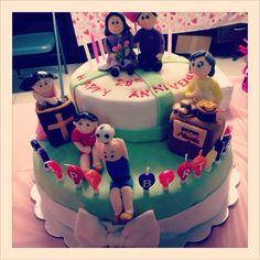 Birthday Cake for Many Birthdays