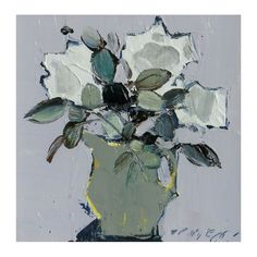 Mhairi McGregor http://www.tolquhon-gallery.co.uk/paintings/304-white-roses