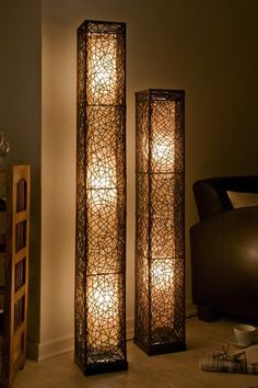 Standing Lamps Luxury - - Hanging Lamps Rope - Farmhouse Lamps Gray - Lamps Ideas Projects - Hanging Lamps Plug In Wooden Floor Lamps, Wooden Lamp, Rattan Lampe, Diy Room Decor, Bedroom Decor, Home Decor, Deco Luminaire, Lamp Makeover, Rustic Lamps