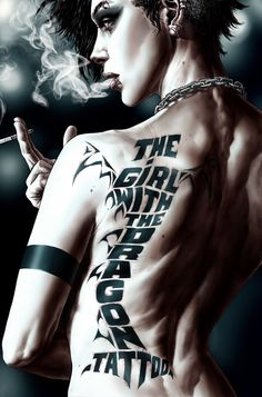The girl with the dragon tattoo vol. Written by Denise Mina. Art by Leonardo Manco and Andrea Mutti. Cover by Lee Bermejo. Rooney Mara, Cover Tattoo, I Tattoo, Tattoo Free, Dragon Tatoo, Comic Book Artists, Comic Books, Tattoo Grafik, Lee Bermejo