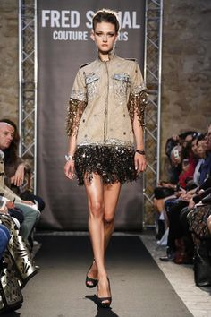Fred Sathal Couture Fall Winter 2014 Paris - NOWFASHION