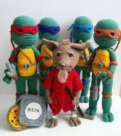 A[mi]dorable Crochet: Teenage Mutant Ninja Turtle Pattern