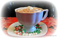 This great Snow Cap Drink is made with Kahlua, Coffee and Hot cocoa mix and it will warm you up inside and out.