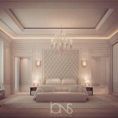 691 отметок «Нравится», 12 комментариев — ions design (@ionsdesign) в Instagram: «Bedroom design • Private Villa •  #الدوحه #doha #qatar #dubai #uae #abudhabi #دبي #السعودية #ديكور…»