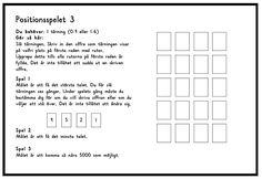 Positionsspelet 1-3 (Word) Positionsspelet 1-3 (PDF)